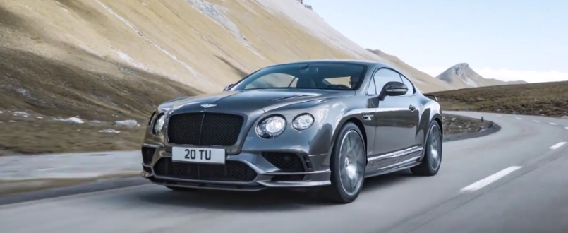 700bhp 2017 bentley continental supersports video dpccars. Cars Review. Best American Auto & Cars Review