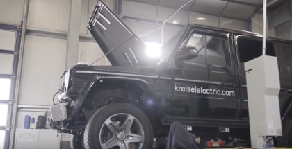 Arnold Schwarzenegger Electric Mercedes G-Class EV By KREISEL - How It's Made