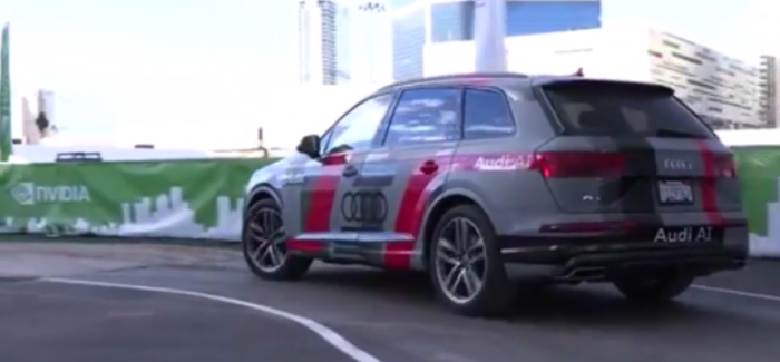Autonomous 2017 Audi Q7 Piloted Driving Concept – Video