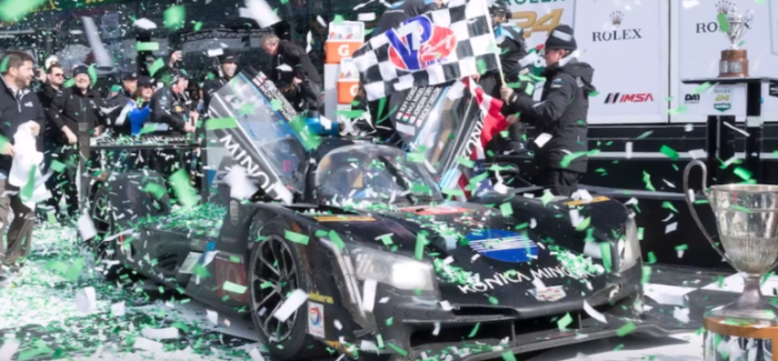 Cadillac DPi-V.R Wins Rolex 24 At Daytona- Video