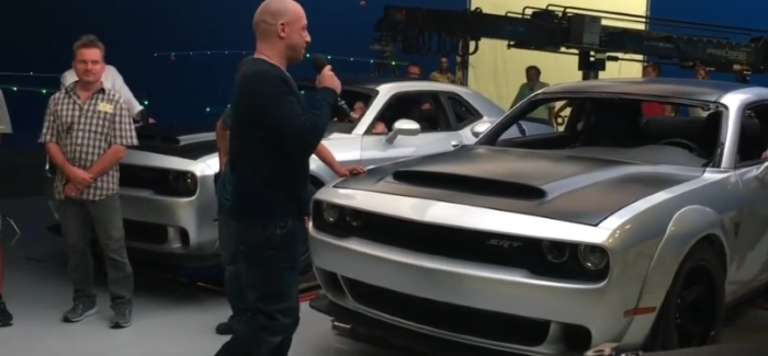 Dodge Demon Leaked Photos