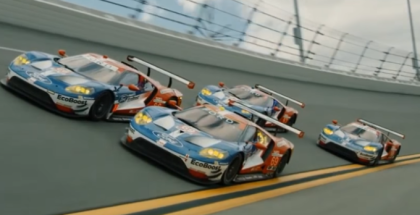 Ford GT Race Cars Hit The Track (1)