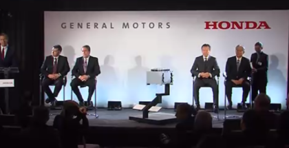GM and Honda First Joint Fuel Cell System Manufacturing