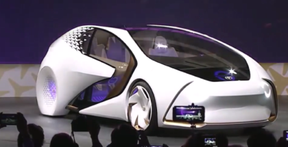 Hyundai Future Mobility Unveiling At CES 2017
