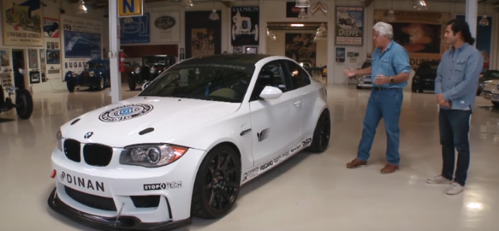 Jay Leno BMW V8 1M Clone Review – Video
