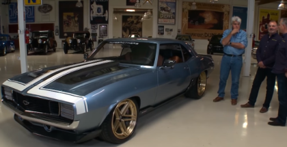 Jay Leno Ring Brothers 1969 Chevrolet G-Code Camaro Review (1)