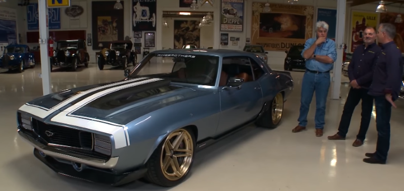 Jay Leno Ring Brothers 1969 Chevrolet G Code Camaro Review