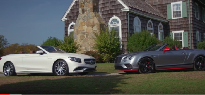 Motor Trend – 2017 Mercedes-AMG S65 vs 2017 Bentley Continental GT Black Edition – Video