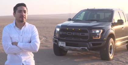 New 2017 Ford Raptor F-150 Test & Review In The Desert (2)