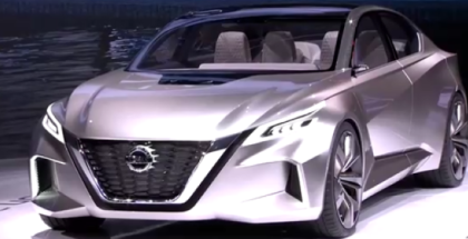 Nissan Vmotion 2.0 Unveiling At Detroit Auto Show NAIAS 2017