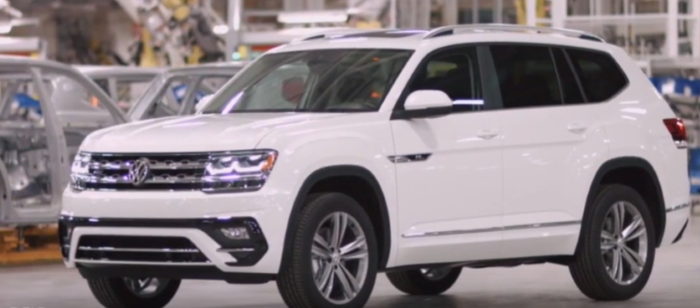 Us Spec 2018 Volkswagen Atlas R Line Walkaround Video