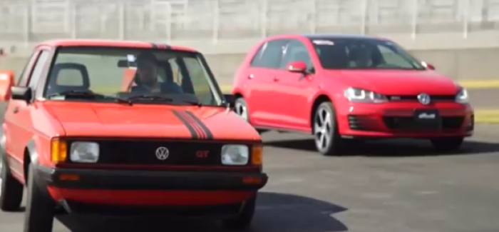VW GTI Track Day Classic & New In Mexico (1)