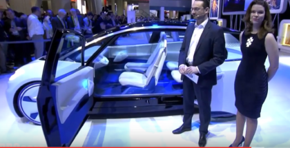 Volkswagen ID Concept Unveiling At CES 2017