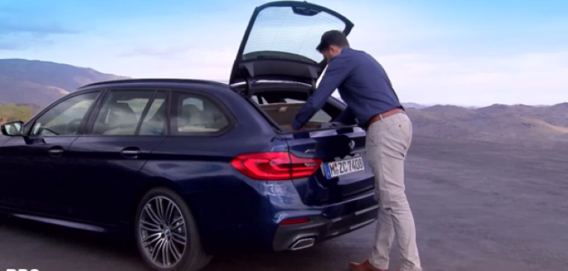 2017 bmw 5 series touring overview video dpccars. Black Bedroom Furniture Sets. Home Design Ideas