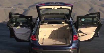 2017 BMW 5 Series Touring Wagon Commercial Trailer  (1)