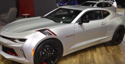 2017 Chevy Camaro Redline Special Edition At Chicago Auto Show (1)
