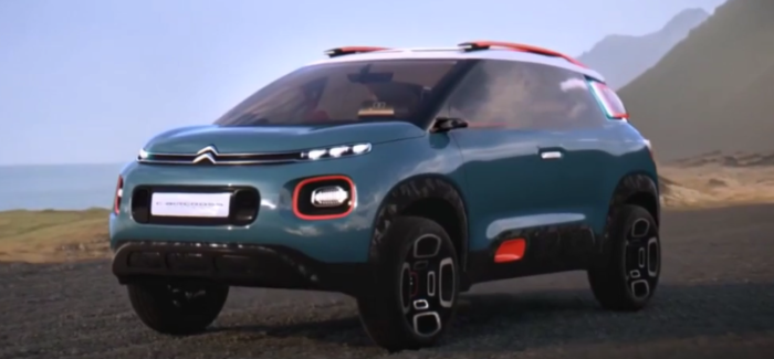 2017 Citroen C-Aircross Concept – Video