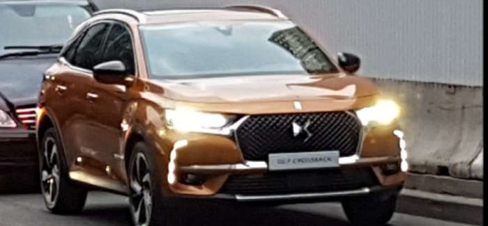 2017 Citroen DS7 Crossback Spied