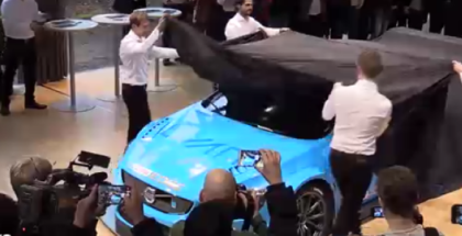 2017 Cyan Racing Volvo S60 Polestar TC1 Race Car Unveiling