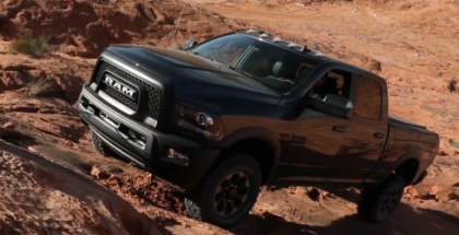 2017 Dodge Ram Power Wagon Off Roading  (2)