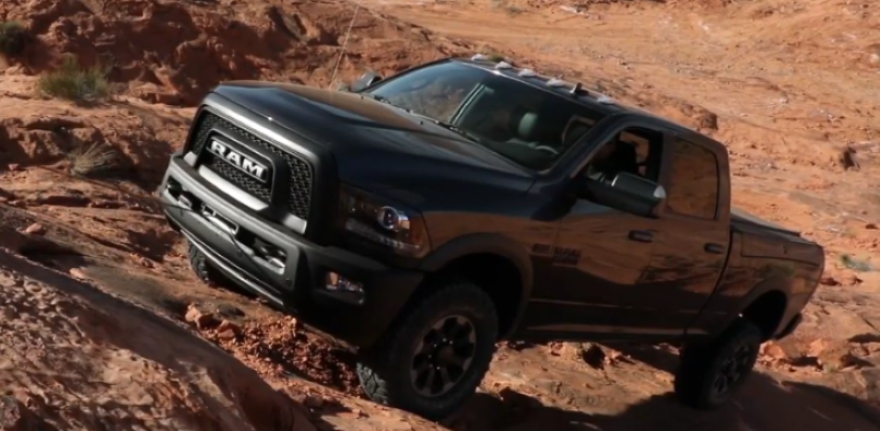 2017 Dodge Ram Power Wagon Off Roading Video Dpccars