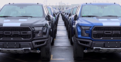 2017 Ford F150 Raptor SuperCrew Getting Shipped To China
