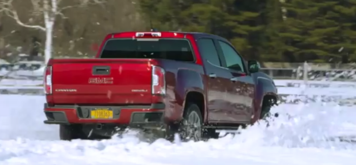 2017 GMC Canyon Denali Winter Test Drive – Video