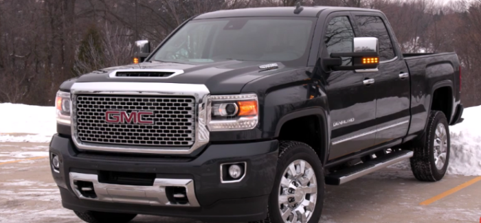 2017 GMC Sierra Denali 1500 & 2500HD – Video