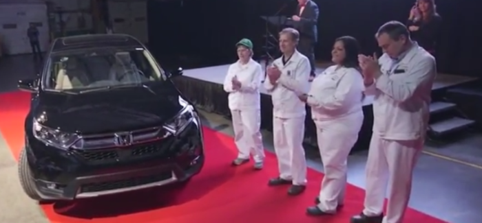2017 Honda CR-V SUV Production in Indiana – Video