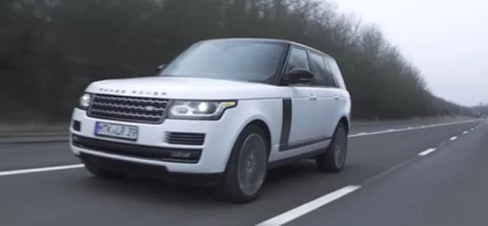 2017 Range Rover SVAutobiography Performance Test Drive