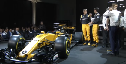 2017 Renault F1 RS17 Unveiling