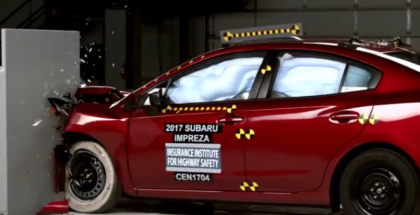 2017 Subaru Impreza Crash Test