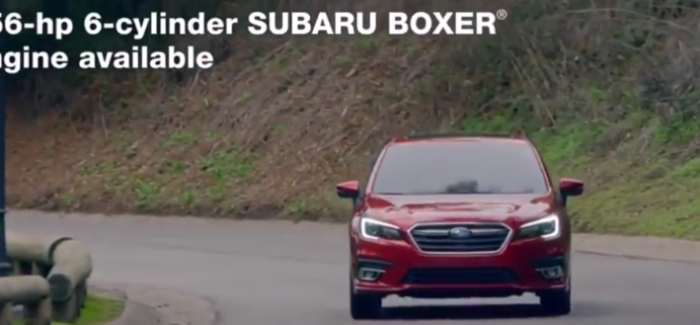 2018 Subaru Legacy Trailer Commercial & Walkaround – Video