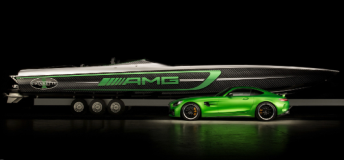 3100HP Mercedes AMG 50' Marauder Boat Is The AMG GTR Of Boats
