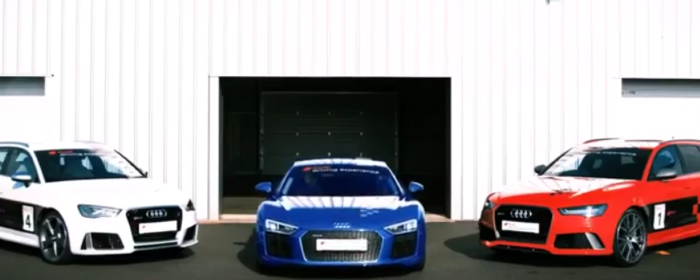 Audi Driving Experience With RS3, RS6, R8 V10 Plus (1)