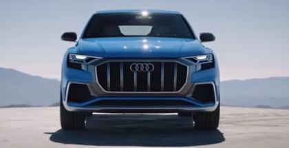 Audi Q8 Concept Headlight & Taillight Demonstration (1)