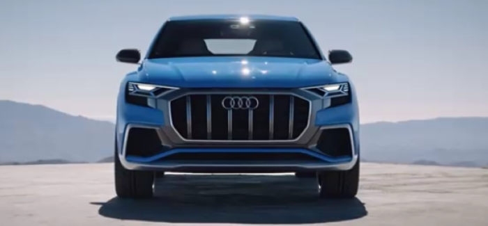 Audi Q8 Concept Headlight & Taillight Demonstration – Video