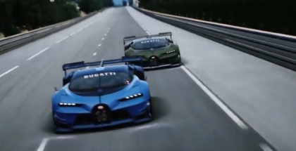 Bugatti Vision GT Unveiling & Making Of  (1)