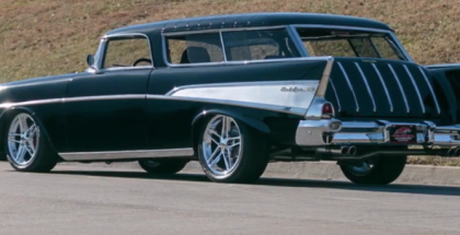 Corvette C4 With A 1957 Chevrolet Nomad Body (1)