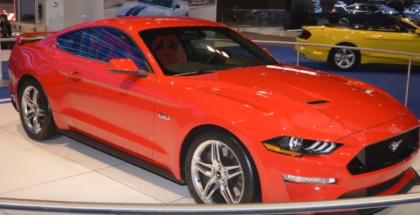 Facelifted 2018 Ford Mustang At Chicago Auto Show (1)