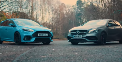 Ford Focus RS vs Mercedes-AMG A45 (1)