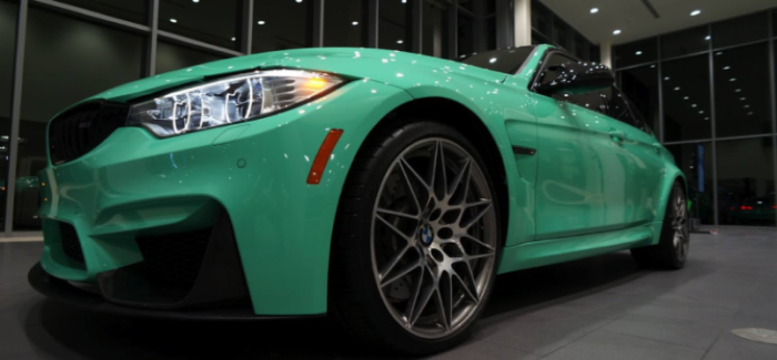 Mint Green 2017 Bmw M3 Competition Package Video Dpccars