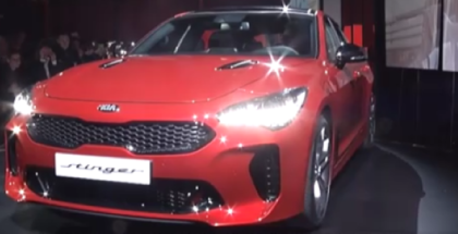 New 2018 Kia Stinger Unveiling Event In Milan (1)