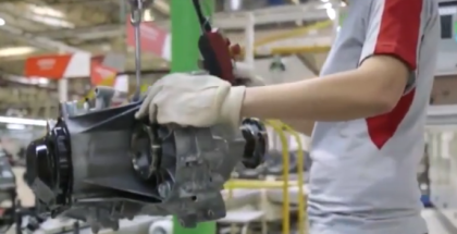 Seat Transmission (Gearbox) Assembly Factory Production (1)