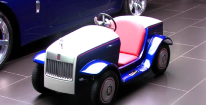 The Smallest Rolls Royce Ever Built