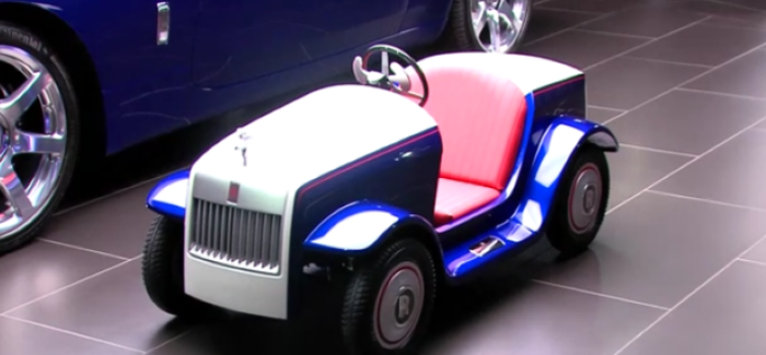 The Smallest Rolls Royce Ever Built – Video