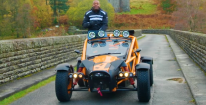 Top Gear - Ariel Nomad vs Welsh Mud (1)
