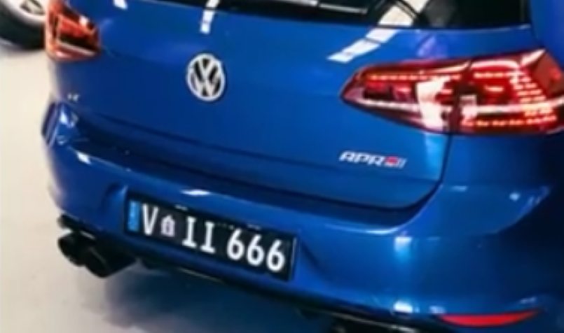 Vw Golf R Mk7 With Fi Exhaust Vs Mercedes A45 Amg With Fi