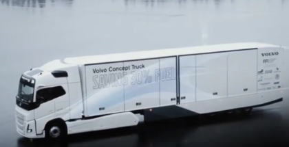 Volvo Trucks Concept With Hybrid Powertrain