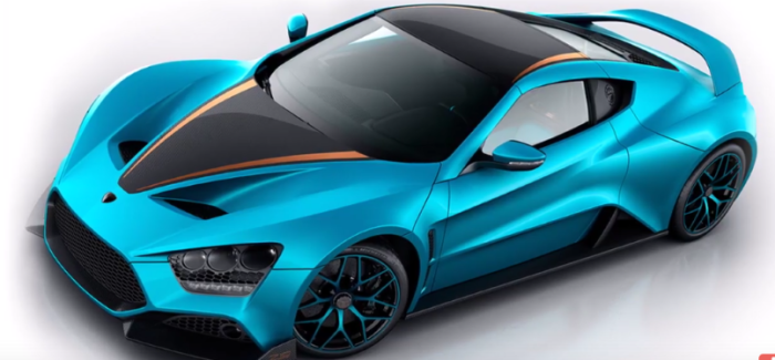 1163HP Zenvo TS1 GT – Video